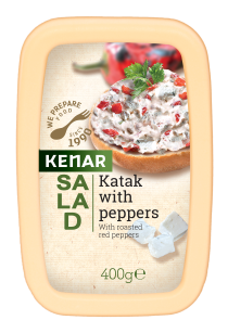 Katuk salad with grilled peppers KENAR