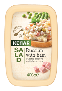 Russian salad with pork ham KENAR