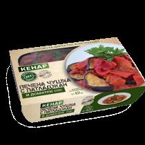Печени чушки с патладжан и доматен сос