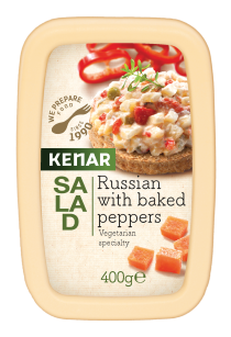 Russian salad with grilled peppers KENAR