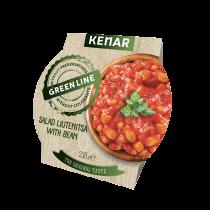 Bean with lyutenitsa