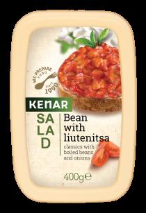 Salad Bean with liutenitsa KENAR