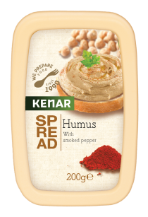 Spread Hummus with smoked pepper KENAR