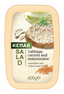 Salad with Cabbage, carrots and mayonnaise KENAR