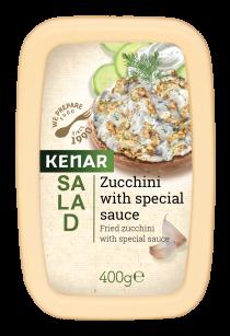 Salad Zucchini with special sauce Kenar KENAR