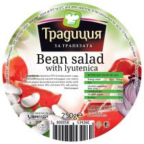 Beans with lyutenitsa